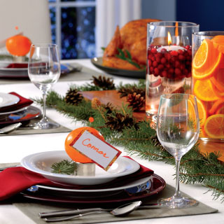 Simply Sophisticated Holiday Table Décor