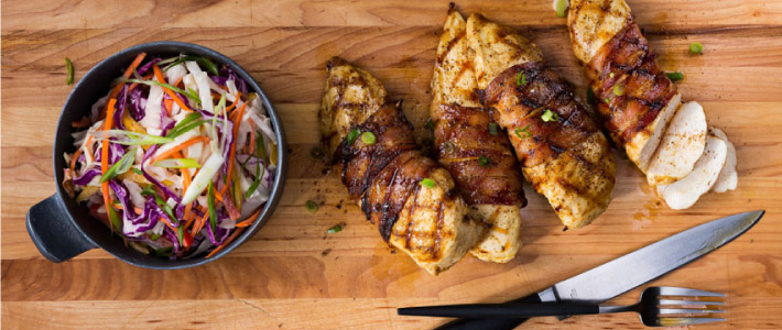 Bacon-Wrapped Chicken