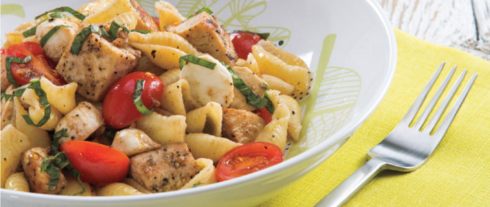 Chicken Pasta Caprese