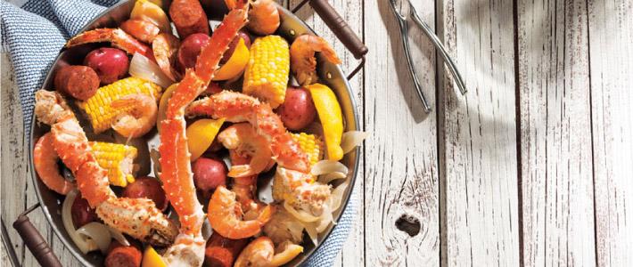Crab & Shrimp Boil