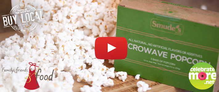 Smude's Microwave Popcorn