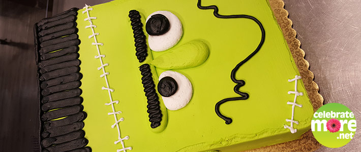 Simple Frankenstein Cake
